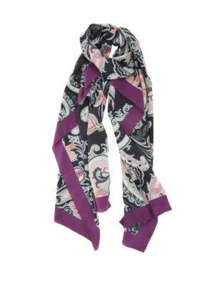 Etro: Stoles & Shawls - Paisley silk shawl