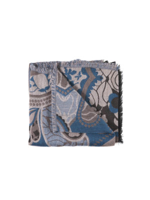 Etro: Stoles & Shawls - Wool blend cloak