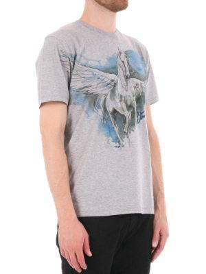 Etro: t-shirts online - Pegasus print T-shirt
