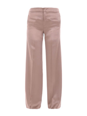 Etro: Tailored & Formal trousers - Cady flared trousers