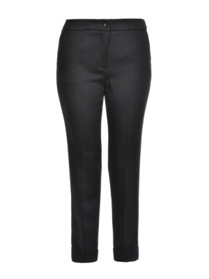 Etro: Tailored & Formal trousers - Cigarette crop trousers