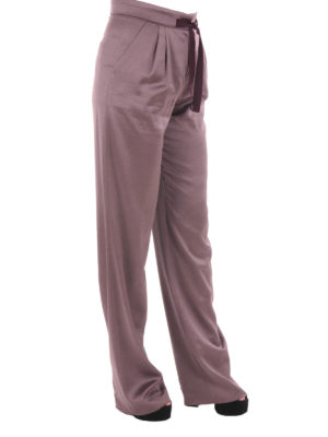 Etro: Tailored & Formal trousers online - Wool blend loose trousers
