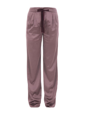 Etro: Tailored & Formal trousers - Wool blend loose trousers