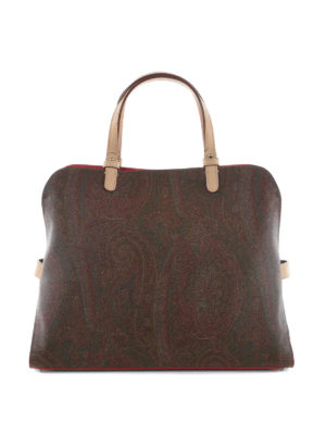 Etro: totes bags - Paisley open top tote
