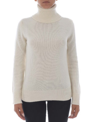 Etro: Turtlenecks & Polo necks online - Wool and cashmere white turtleneck