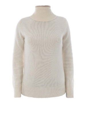 Etro: Turtlenecks & Polo necks - Wool and cashmere white turtleneck