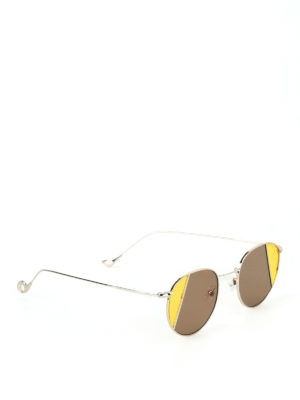 Eyepetizer: sunglasses - Clem two-tone lens sunglasses