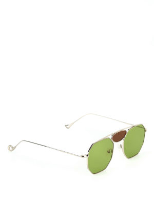 Eyepetizer: sunglasses - Frank light metal framed sunglasses