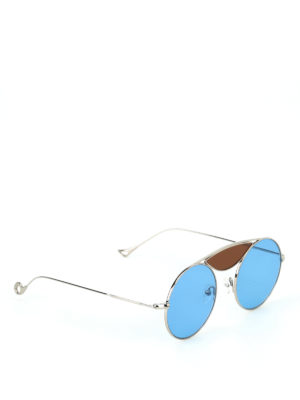 Eyepetizer: sunglasses - John light round sunglasses