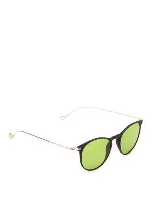 EYEPETIZER: occhiali da sole - Occhiali da sole Wilson nero opaco