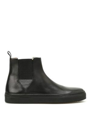 Fabiana Filippi: ankle boots - Gaia leather ankle boots