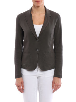 Fabiana Filippi: blazers online - Slim fit embellished cotton blazer