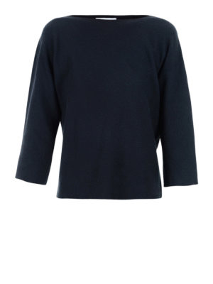Fabiana Filippi: boat necks - Cotton boat neck over sweater