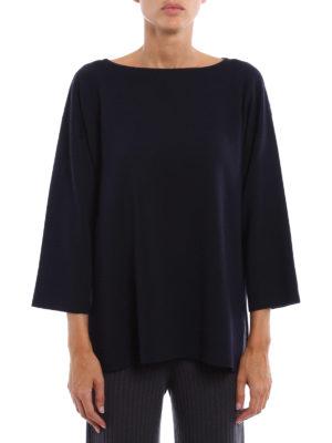 Fabiana Filippi: boat necks online - Virgin wool boat neck pullover