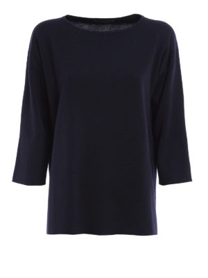 Fabiana Filippi: boat necks - Virgin wool boat neck pullover