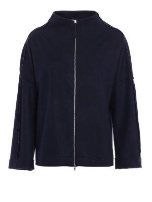 Fabiana Filippi: cardigans - Merino wool oversized cardigan
