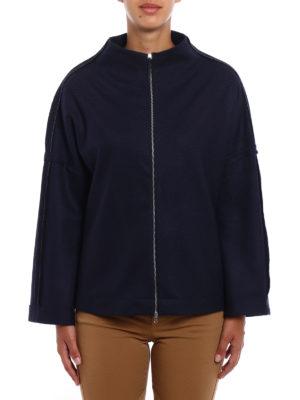 Fabiana Filippi: cardigans online - Merino wool oversized cardigan