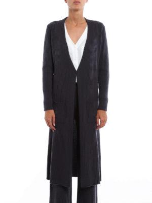 Fabiana Filippi: cardigans online - Open front cashmere long cardigan