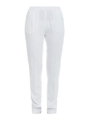 Fabiana Filippi: casual trousers - Contrasting bands trousers