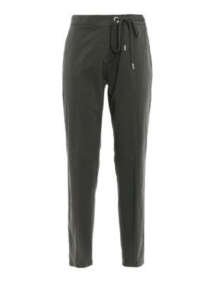 Fabiana Filippi: casual trousers - Cotton chino trousers