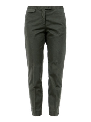 Fabiana Filippi: casual trousers - Cotton crop trousers