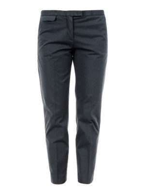 Fabiana Filippi: casual trousers - Cotton crop trousers