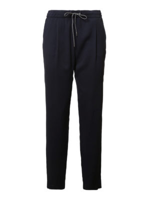 Fabiana Filippi: casual trousers - Lightweight silk trousers