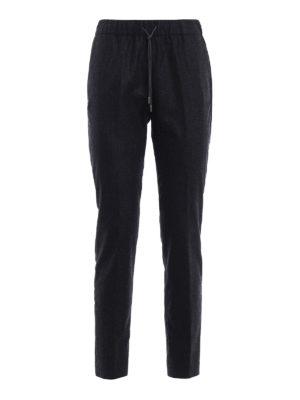 Fabiana Filippi: casual trousers - Merino and cashmere trousers