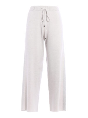 Fabiana Filippi: casual trousers - Merino wool palazzo trousers