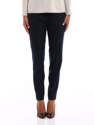 Fabiana Filippi: casual trousers online - Merino and cashmere trousers