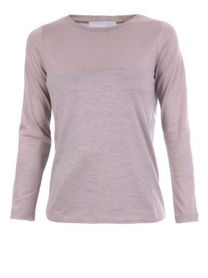 Fabiana Filippi: crew necks - Light wool crew neck sweater