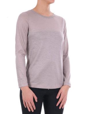 Fabiana Filippi: crew necks online - Light wool crew neck sweater