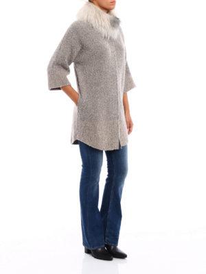 Fabiana Filippi: Fur & Shearling Coats online - For fur insert boucle coat