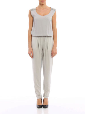Fabiana Filippi: jumpsuits online - Crepe and jersey  jumpsuit