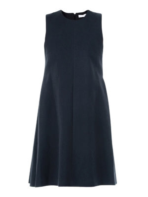 Fabiana Filippi: knee length dresses - A-line sleeveless dress