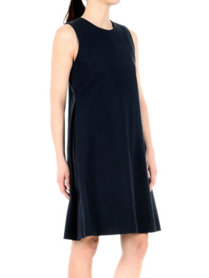 Fabiana Filippi: knee length dresses online - A-line sleeveless dress