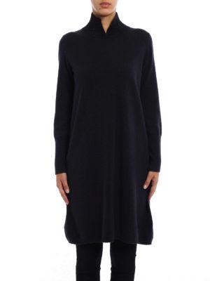 Fabiana Filippi: knee length dresses online - Straight line design knitted dress