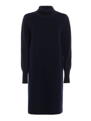 Fabiana Filippi: knee length dresses - Scuba dress with knitted details
