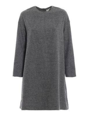 FABIANA FILIPPI: abiti al ginocchio - Abito Principe di Galles in misto lana
