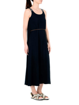 Fabiana Filippi: maxi dresses online - Viscose crepe maxi dress