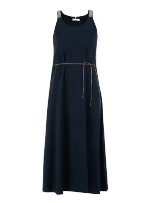 Fabiana Filippi: maxi dresses - Viscose crepe maxi dress