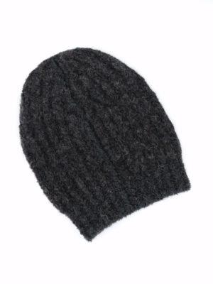 FABIANA FILIPPI: berretti online - Berretto a coste inglesi in lana mélange