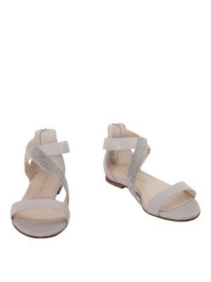 Fabiana Filippi: sandals online - Adele embellished nappa sandals