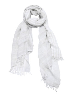 Fabiana Filippi: scarves - Lurex detailed lightweight scarf