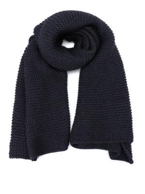 Fabiana Filippi: scarves - Lurex inserts wool scarf