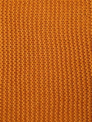 Fabiana Filippi: scarves online - Oversize knitted dark yellow scarf