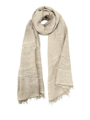 Fabiana Filippi: Stoles & Shawls - Alpaca and wool sequined stole