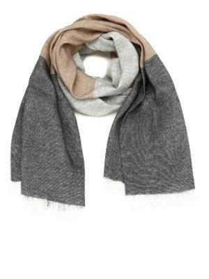 Fabiana Filippi: Stoles & Shawls - Linen and wool pashmina