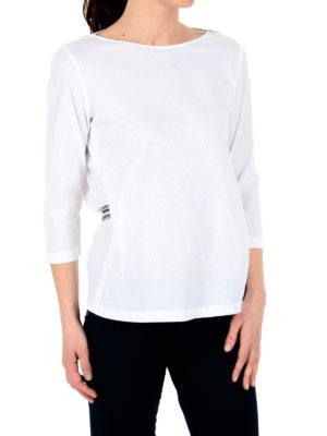 Fabiana Filippi: t-shirts online - Belted cotton Tee