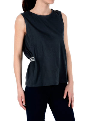Fabiana Filippi: t-shirts online - Belted sleeveless Tee